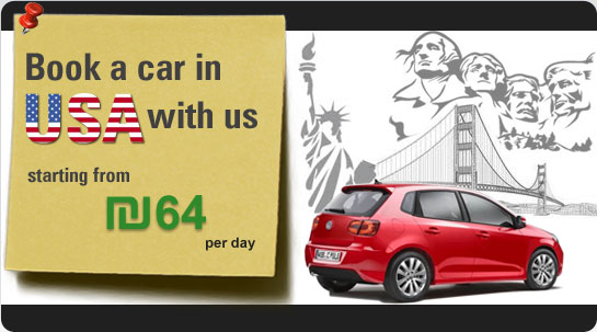 Book a car in USA with us